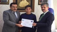 Siirt'te 30 kursiyere girişimcilik sertifikası verildi