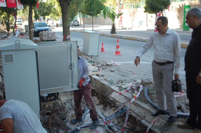 Urfa'da Elektrik Hatları Yeraltına Alınıyor