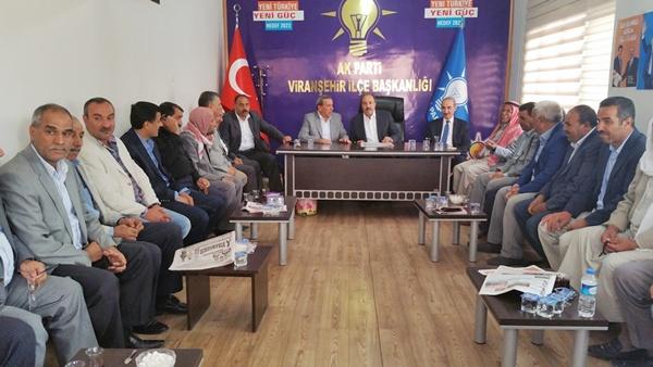 Vekil Halil Özcan Viranşehir'de