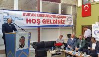 Siirt'te yeni 10 Kur'an kursunun açılışı yapıldı