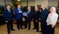 Filistin Tarım Bakanı Bursa'ya geldi