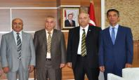 Suriye Eğitim Bakanı Müsteşarından Rektör Uluçam'a ziyaret