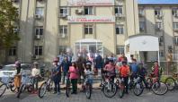 Batman'da öğrencilere bisiklet desteği