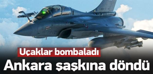 Türkiye Savaş uçakları vurunca şok olduk!