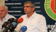 Diyarbakır Baro Başkanı hakkında soruşturma