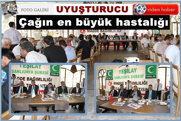 Urfa Yeşilay 4. istişare toplantısın yaptı.