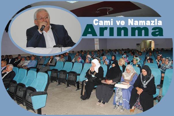 Siverek'te 'Cami ve Namazla Arınma' konferansı düzenlendi