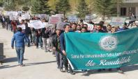 YYÜ öğrencilerinden DBP'li belediyeye 'karikatür' tepkisi