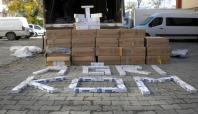 Ağrı'da 179 bin paket kaçak sigara ele geçirildi