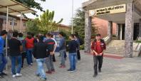 Batman'da yurt sorunu yaşayan öğrenciler eylem yaptı
