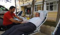 Meslek Yüksekokulu'ndan kan bağışı