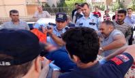 Gaziantep'te cinnet getiren şahıs dehşet saçtı