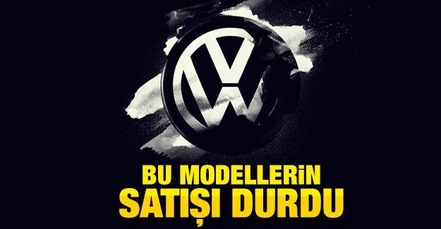 Volkswagen 2 modelin Türkiye'deki satışını durdurdu