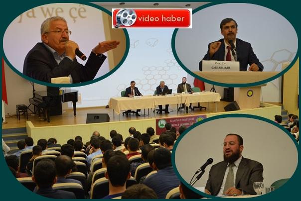 Harran Üniversitesinde 3 dilde kardeşlik anlatıldı