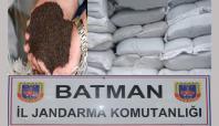Batman'da kaçak çay ele geçirildi