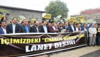 Diyarbakır halkından çirkin afişlere sert tepki