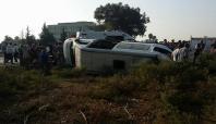 29 kişinin yaralandığı kaza kameralara yansıdı