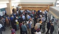 Mardin Devlet Hastanesi'nde sıra kuyruğu