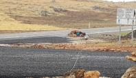 Yola yerleştirilen patlayıcı imha edildi