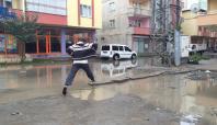 Iğdır'da altyapı sorunu yağmurla kendini gösterdi