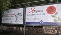 İslami STK'lardan peygambere sevgi afişleri