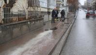 Siirt'te ev ve işyerlerini su bastı