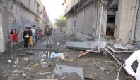 Silopi'de patlayan bomba esnafa zarar verdi