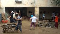Cizre'de sel: 500 ev su altında kaldı