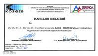 Ağrı'da girişimciler sertifikalarını aldı