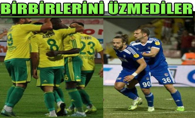 Gaziantep Belediyespor, Şanlıurfaspor 1-1