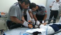 Gaziantep'te bir çocuk elini kıyma makinesine kaptırdı