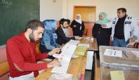 Oy kullanma işlemleri sona erdi