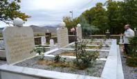 Şeyh Şahabettin ve arkadaşlarının mezarlıkları yapıldı