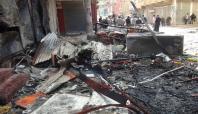 Nusaybin'deki patlamanın şiddeti gün ağarınca ortaya çıktı