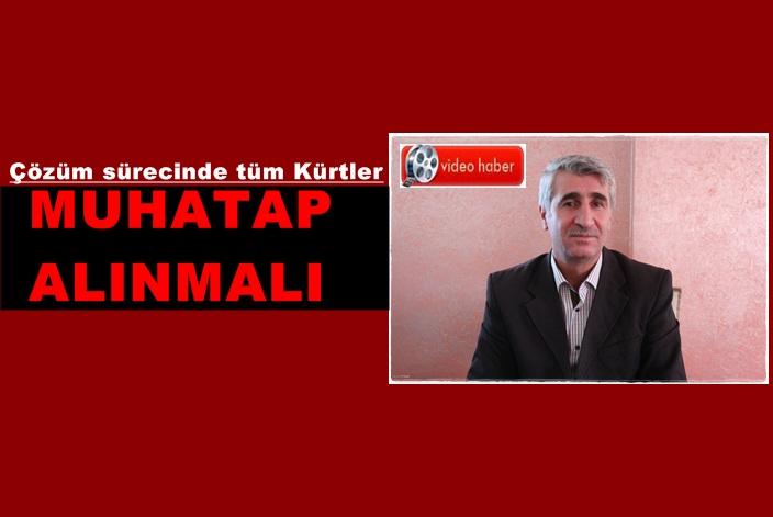 'Çözüm sürecinde tüm Kürtler muhatap alınmalı'