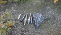 Bitlis'te RPG-7 Roketatar ele geçirildi