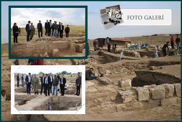 Vali Küçük, Harran'da incelemelerde bulundu
