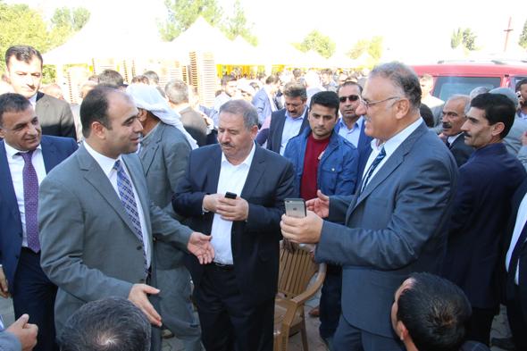 Gaziantep Milletvekili Abdulkadir Yüksel Suruç'ta teşekkür yemeği verdi