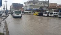 Silopi'de caddeler su kanalına döndü