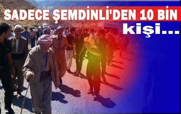 Hayat felç oldu! 10 bin kişi PKK'dan kaçtı