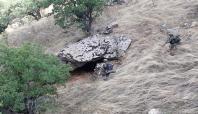 Batman'da PKK'ye ait 3 barınma yeri imha edildi