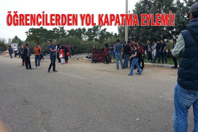 Harran Üniversitesi öğrencileri eylem yaptı