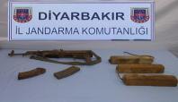 Diyarbakır'da mühimmat bulundu