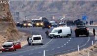 Yola döşenen mayın patladı: 5 asker yaralı