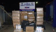 Diyarbakır'da 111 bin paket kaçak sigara ele geçirildi