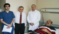 Sırt bölgesinden dev bir tümör çıkarıldı