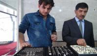 Kızıltepe'de üretilen gümüş telkâriler yurt dışına ihraç ediliyor