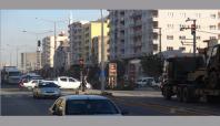 Çatışma bölgesine giden Askeri konvoy Kızıltepe'ye ulaştı