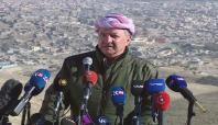 Barzani Şengal'de açıklamalarda bulundu