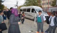 Trafiğe açılan sokak öğrenci velilerinin tepkisi çekti